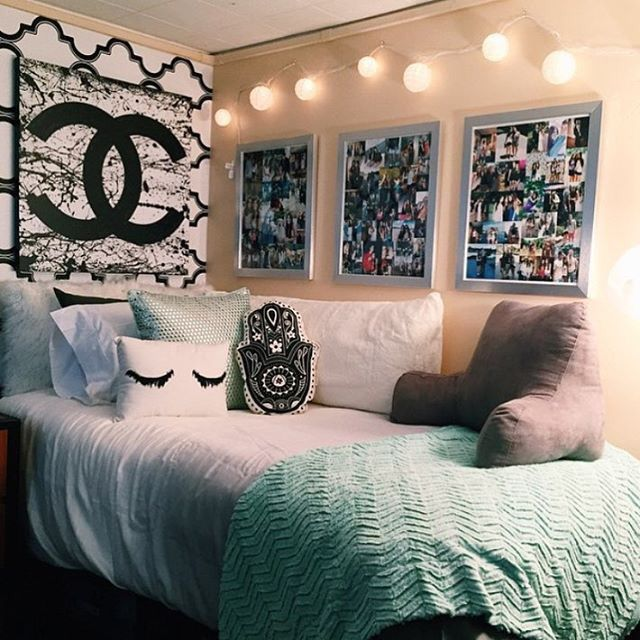 25+ best ideas about Cute Dorm Rooms on Pinteres ~ 125634_Dorm Room Wall Decor Ideas