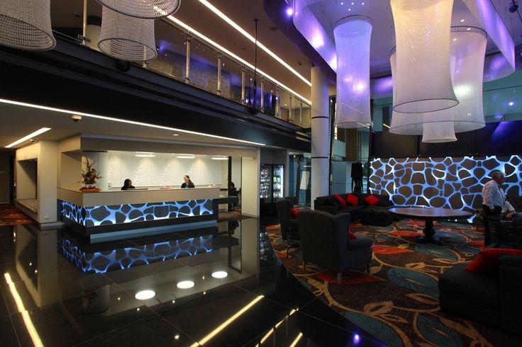 Kaynemaile Lighting feature in Calamvale Hotel, Australia