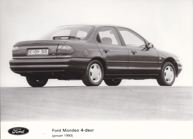 Ford 6 Door >> Ford Mondeo 4-door (NL, 01/1993) * | Car factory press photos | Pinterest | Ford mondeo, Ford ...