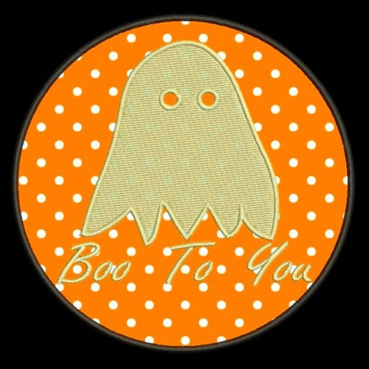 Halloween Embroidery design Ghost applique Boo to you designs instant digital download file hoop machine by SvgEmbroideryDesign on Etsy