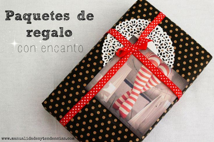 Paquetes de regalo con encanto / Charming Christmas packaging www.manualidadesytendencias.com #packaging #paquet #cadeau #navidad #Noël #Chirstmas #gitf #present #wrapping #envolver #envoltorio #paquete #regalo #embalaje