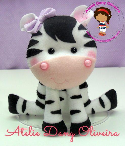 Zebra em feltro para decoração do quartinho do Bebê,Chá de bebê,Aniversário...  Feito a mão em feltro  Verificar a disponibilidade do Atelie antes de fechar a sua encomenda R$ 30,00