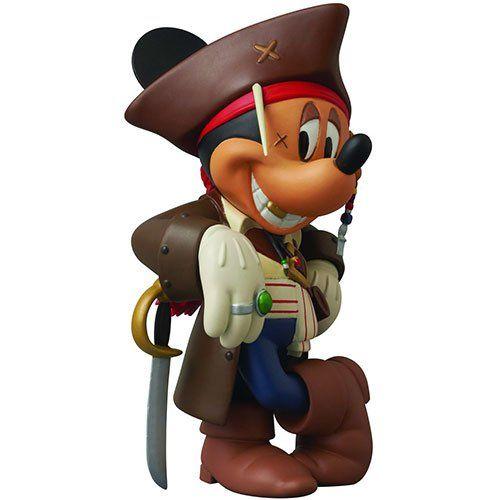 Medicom Disney Pirates of the Caribbean 4 Captain Jack Sparrow Mickey Vinyl Collector Doll @ niftywarehouse.com #NiftyWarehouse #PiratesOfTheCarribbean #Pirates #Movies #Pirate
