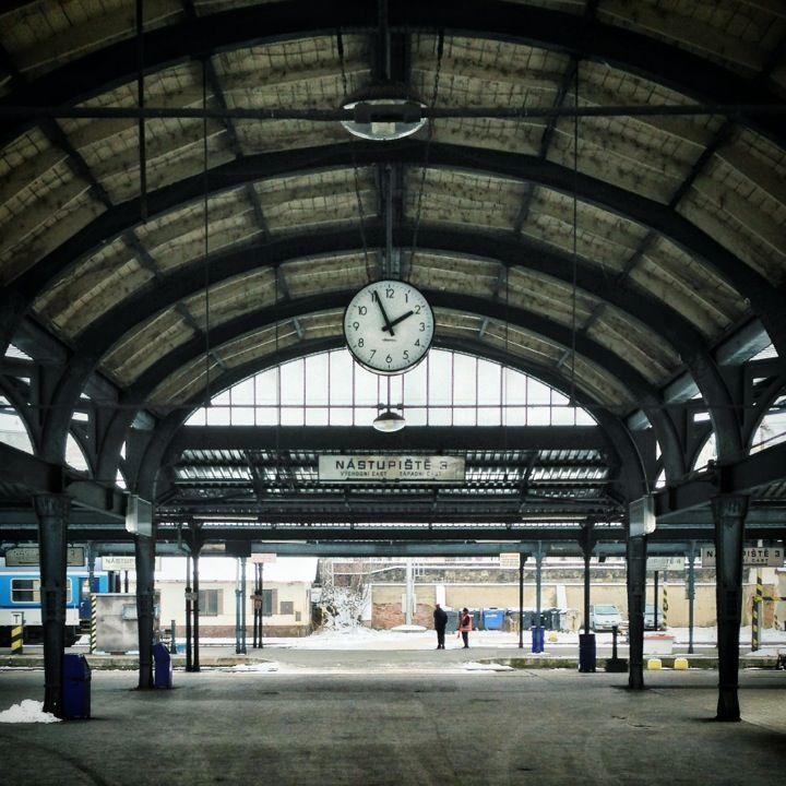 Plzeň hlavní nádraží | Pilsen Main Train Station in Plzeň, Plzeňský
