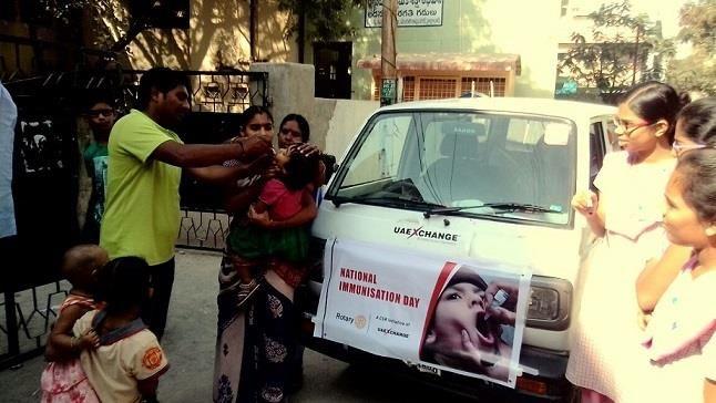 #UAEExchangeIndia Supported the Pulse Polio Health Programme