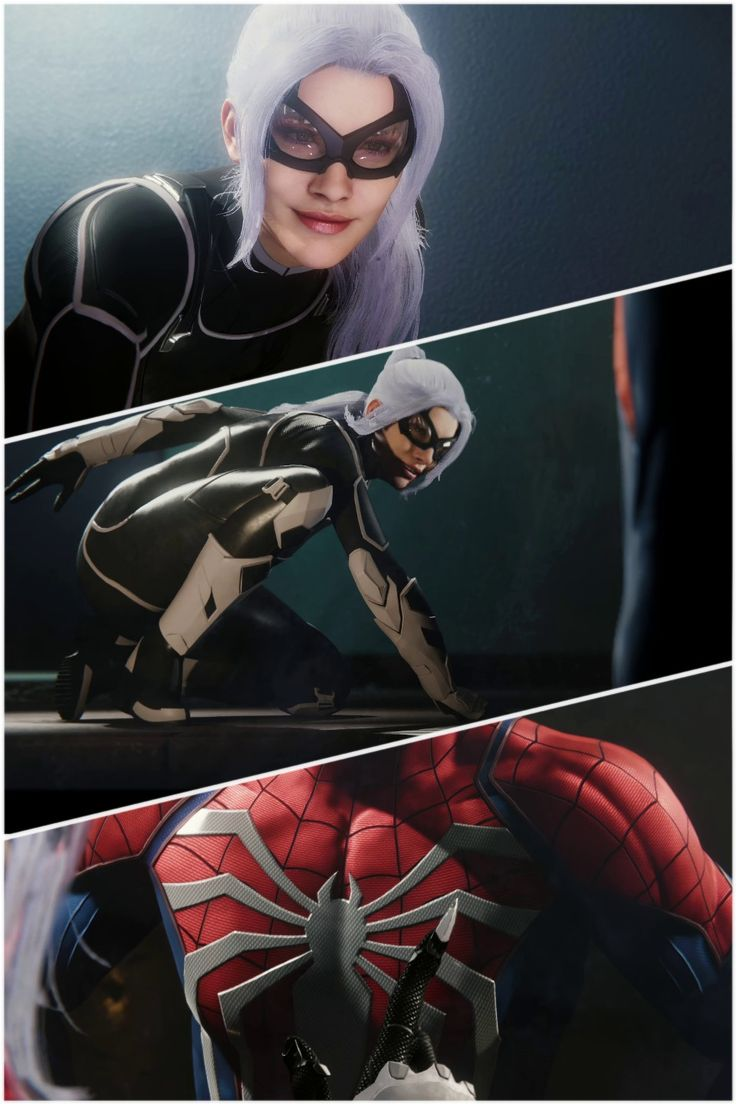 Hey There Spider Long Time No See Miss Me Felicia Catch Me If You Can Teaser Reveal Of Black Cat I Black Cat Marvel Black Comics Spiderman Art