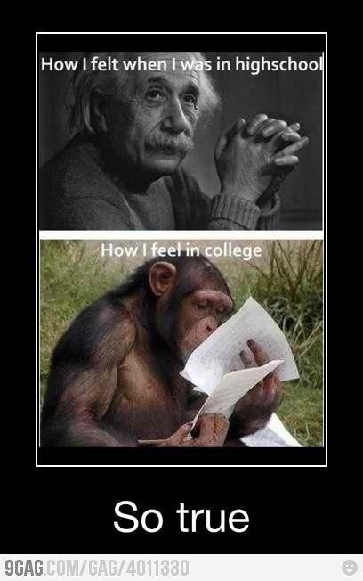 {mayne. at least it's a little better in grad school. LOL.} It gets definitely worse.