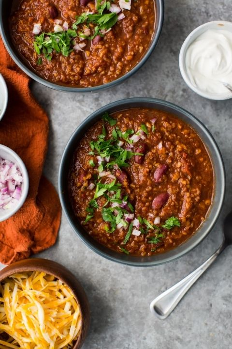 Bulgur Vegetarisches Chili