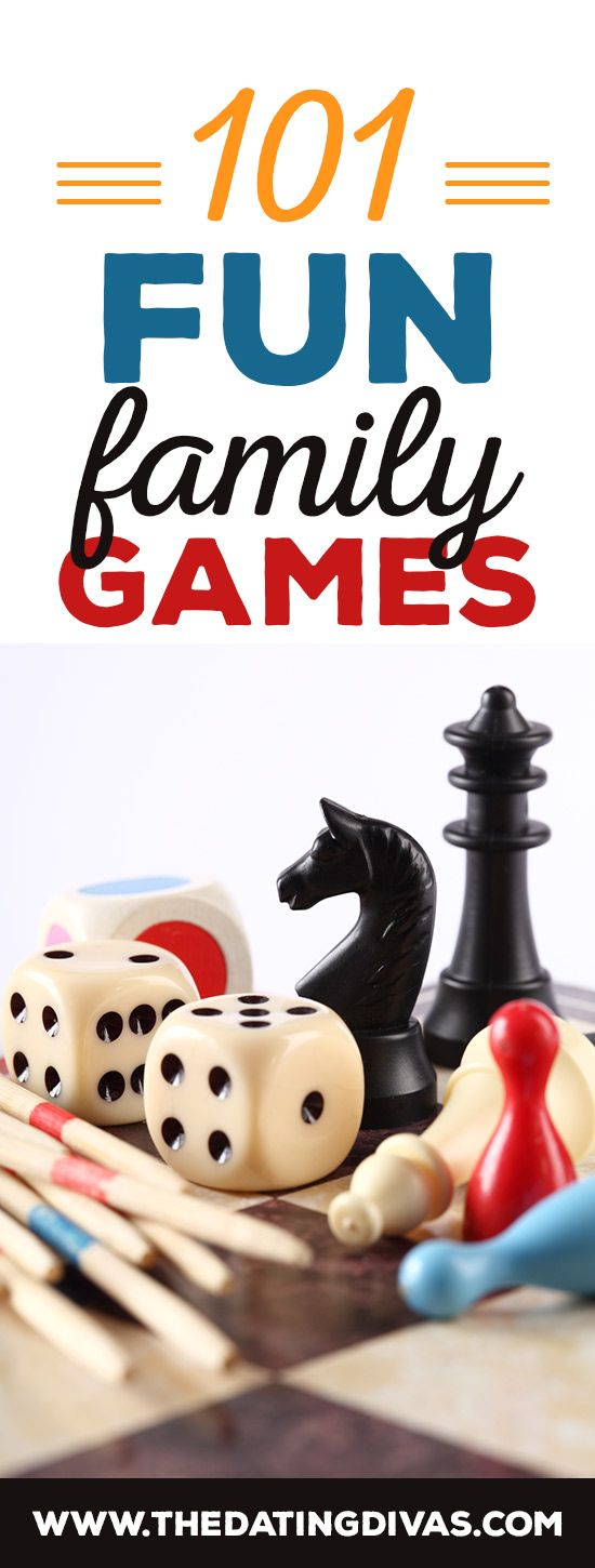 This is an incredible resource of fun family games--I've gotta get some of these for family night! www.TheDatingDivas.com