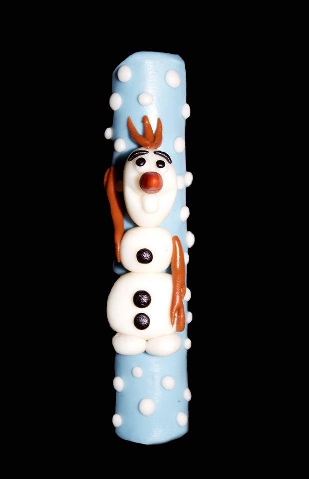 Olaf on a Cuchufly.... Bye, bye winter!