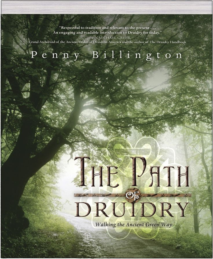 """The Path of Druidry - """"Embark on the magical path of Druidry and enrich your life with its ancient wisdom in British Druid Penny Billington's The Pathof Druidry.From joining a druidic community to beginning a solitary path, you'll have all you need to know about practicing Druidry today. Penny offers a clear and structured course of study that highlights the mysteries, magic and modern practice of this nature-based tradition. Each chapter begins with a captivating Welsh mythic tale that…"""