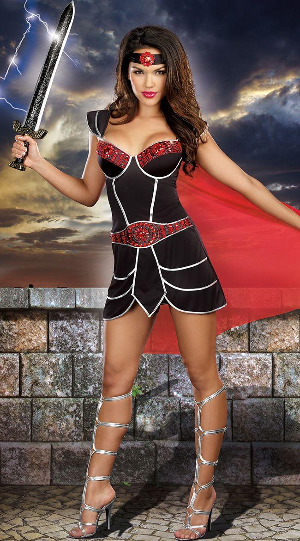 Добейся успеха Воин костюм, воительница костюм, сексуальное спартанский воин костюм