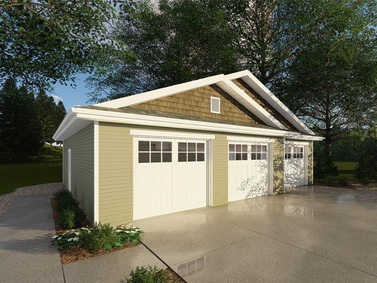 3 Car Garage Workshop 050g 0091 Garage Workshop Plans Garage Plans Garage Plan