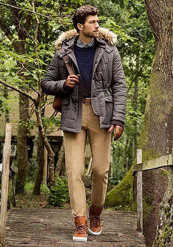 【緑ツイードジャケット×ジーンズ】秋のジャケットコーデ(メンズ) | Italy Web