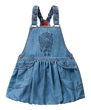 This Blue Denim Daja Jumper - Infant & Girls by Oilily is perfect! #zulilyfinds