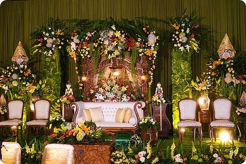 Javanese Wedding Throne by noor.hilmi, via Flickr