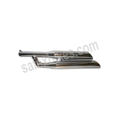 Buy HIGH PERFORMANCE SILENCER ROYAL ENFIELD BULLET (DOUBLE BARREL) ZADON On Special Discount From Safexbikes.com - Motorcycle Parts And Accessories Online Shopping