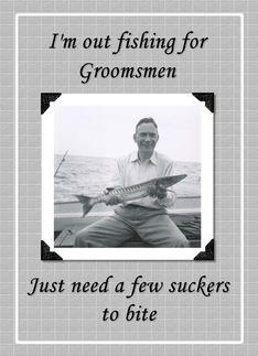 groomsmen invitation