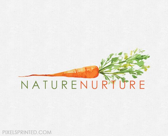 ready made nutritionist logo, chef logo, nutritionist logo. vegan chef logo…