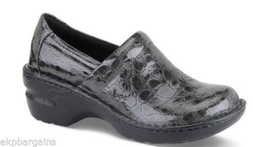 BOC-Born-Concept-Margaret-Grey-Women-Clogs-Closed-Back-Mules-Size-6-5-Shoes-W204