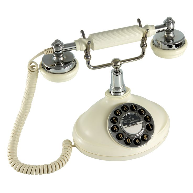GPO Opal Traditional Push Button Telephone | White by Retro & Nostalgic Telephones on THEHOME.COM.AU
