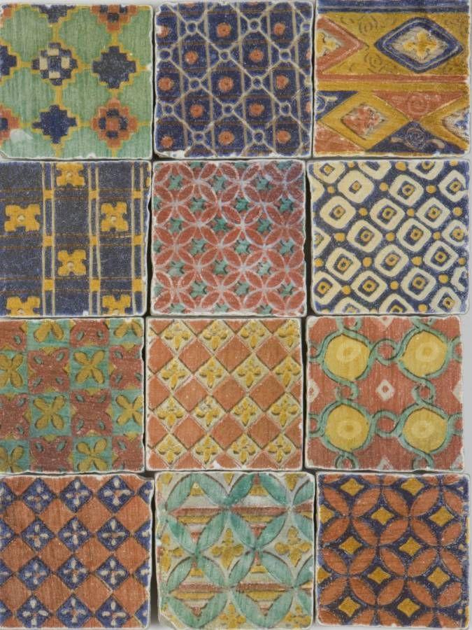 Chintz Decorative Tiles from Aeria