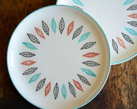 Vintage Marcrest Nordic Mint Dishware  Dinnerware by TheFancyLamb, $62.00