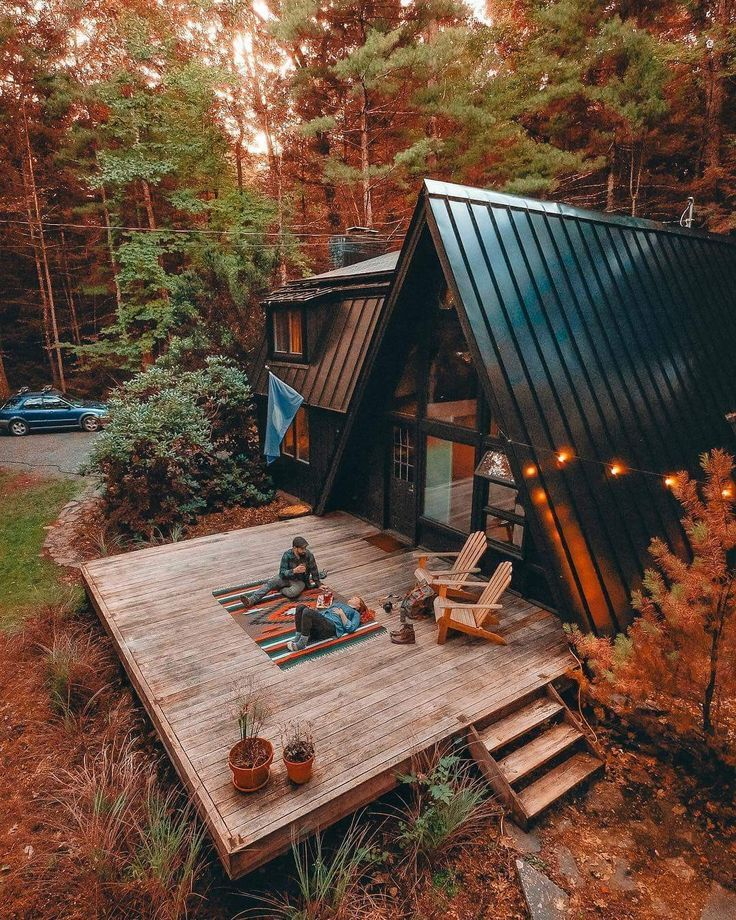 Dream Cabin House In The Woods A Frame House Cabins In The Woods