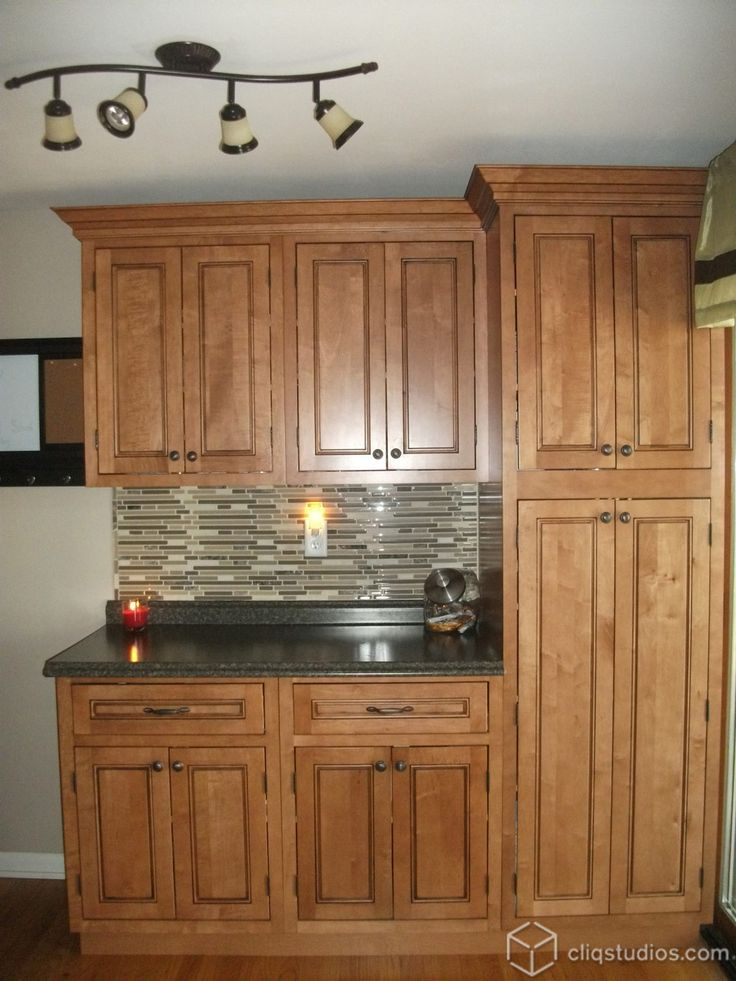 79 best Maple Kitchen Cabinets images on Pinterest Fairmont inset kitchen cabinets in Maple Caramel Jute Glaze from  CliqStudios com. Maple Kitchen Cabinets. Home Design Ideas