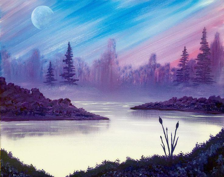"""Moonrise Morning"""