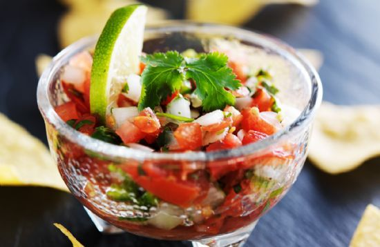The versatility of this Mexican salsa is limitless! Put it on grilled chicken or steak, add it to eggs, or serve with tortilla chips.