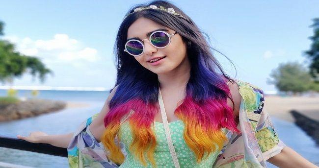 Purple, pink, orange: Adah Sharma flaunts three hair colours | Beautiful  indian actress, Hair color, Adah sharma