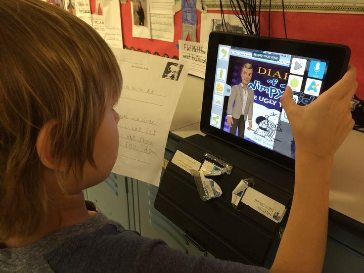 1st Grade Book Reports using Tellagami (via Margie Brown): http://vveedtech.weebly.com/vve-ed-tech-blog/tellagami-book-reports