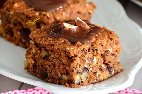 super zdrowe ciasto wysokobłonnikowe (bez miksera)