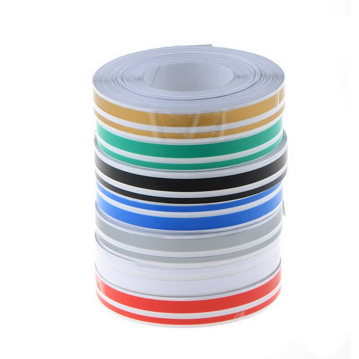 7 Colors 4mm&2mm 980cm Stripe Tape Streamline Decals Stickers for Car DOUBLE LINE Tape Decal Vinyl Stickers P28 #Affiliate