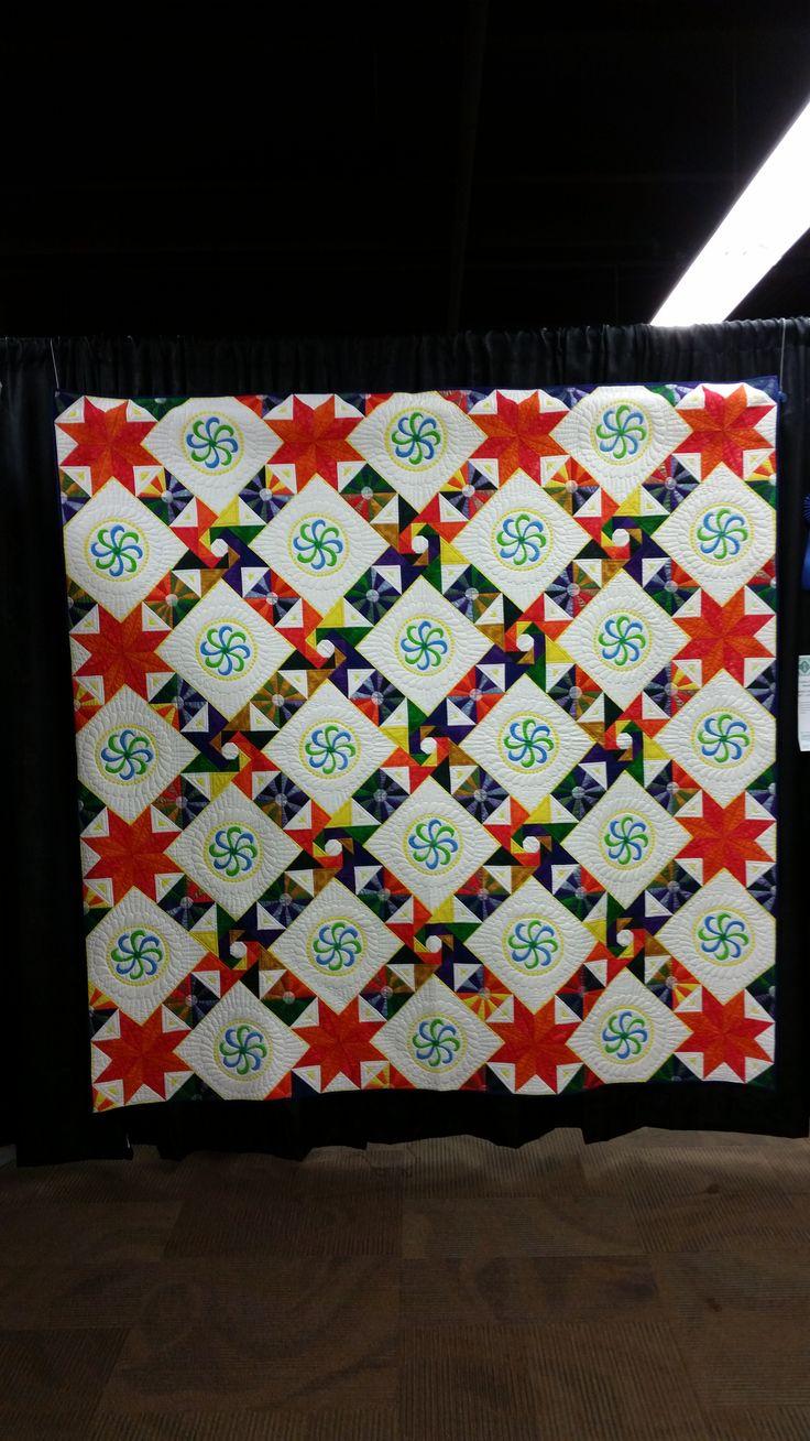 2015 Denver National  Quilt Festival #quilting #art #textile #fiber