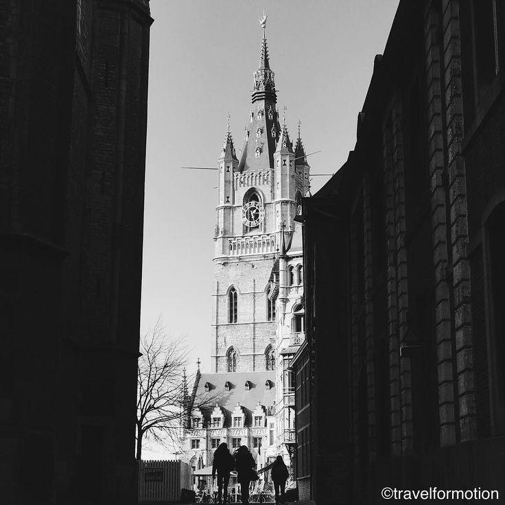 #strangers in the #light #blackandwhite #blackandwhitephotography #gent #ghent #visirgent #ghentcity #vsco #vscocam #wanderlust #travel #travelgram #guardiancities #guardiantravelsnaps #flanders #visitflanders #historic #city #centre #belgium #igbelgium #belfort #silhouette