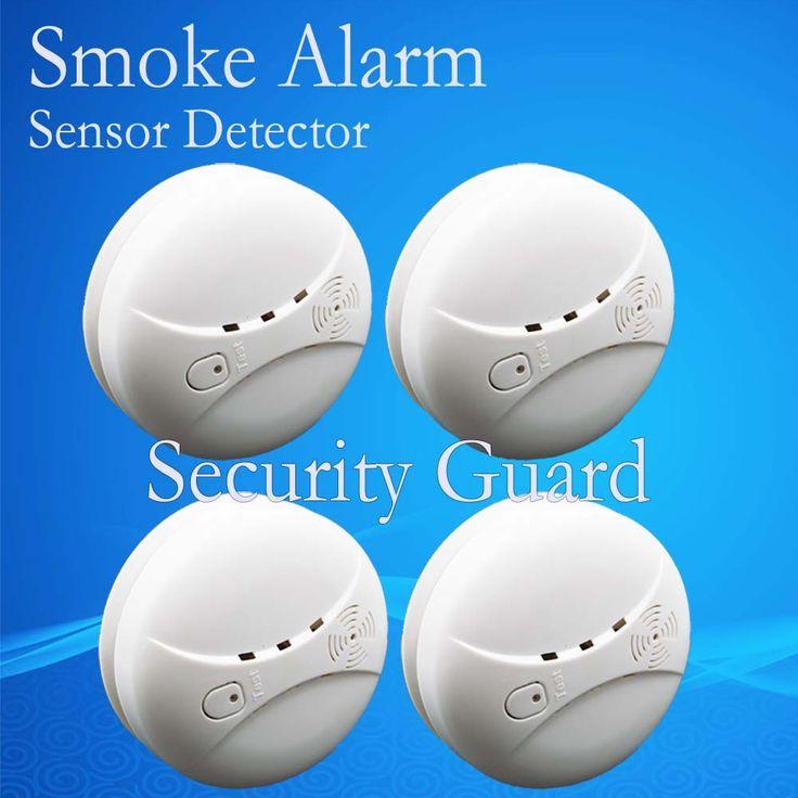 送料無料ホット販売新433 ワイヤレス煙検出器火災警報センサー用屋内ホーム安全ガーデン セキュリティ sm-