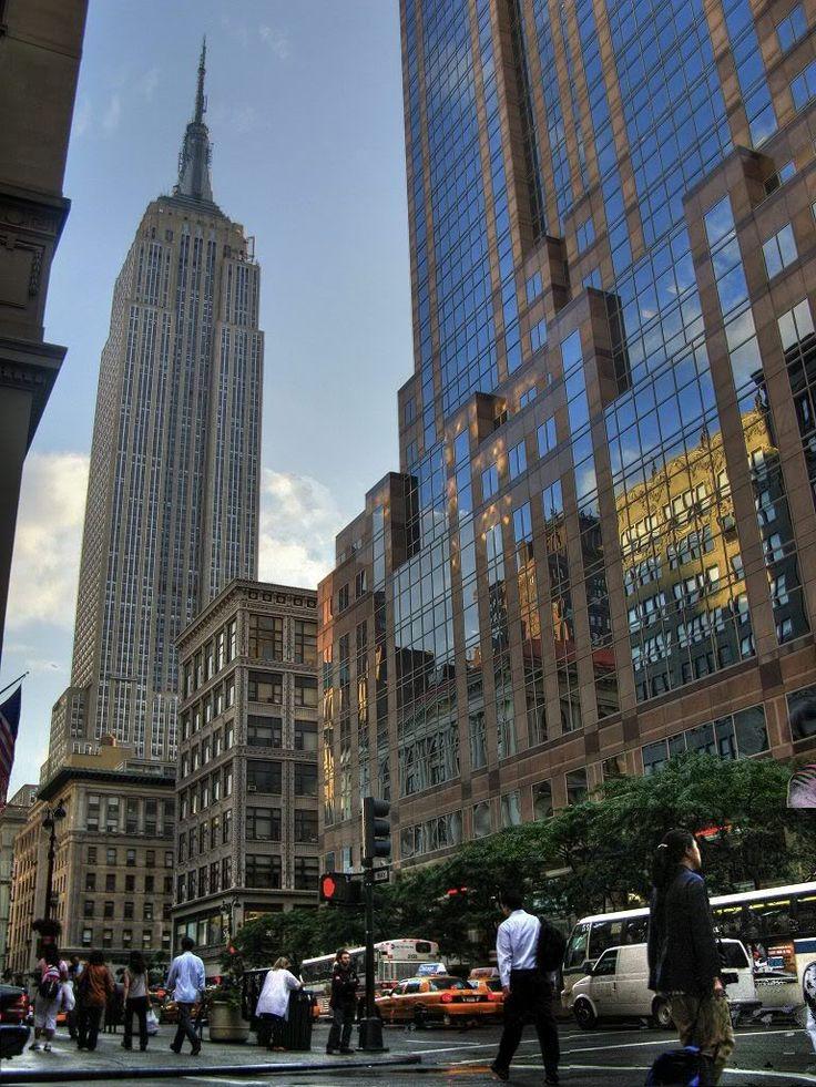 Empire, New York City.