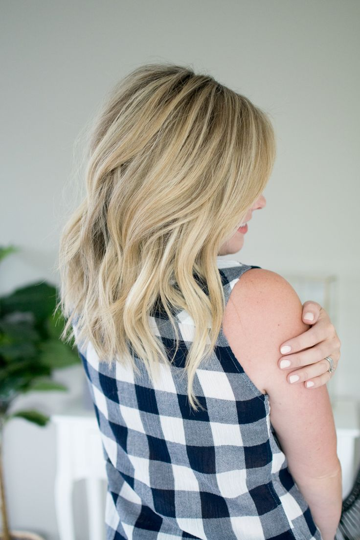 Laid Back Waves Tutorial // by Kate Bryan at The Small Things Blog