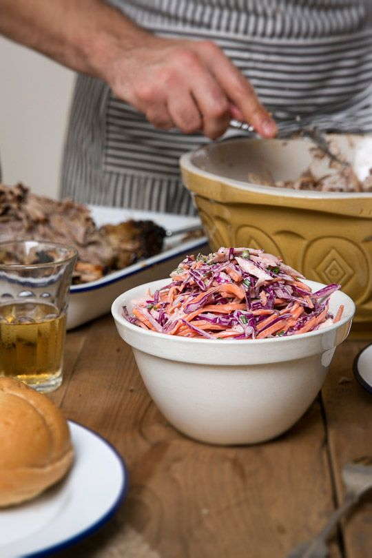 Red Cabbage Coleslaw  Dressing 2 tablespoons cane sugar 1 tablespoon white wine vinegar 2 tablespoons apple cider vinegar 1 tablespoon Dijon mustard ½ to ¾ cup mayonnaise Salt and pepper to your taste