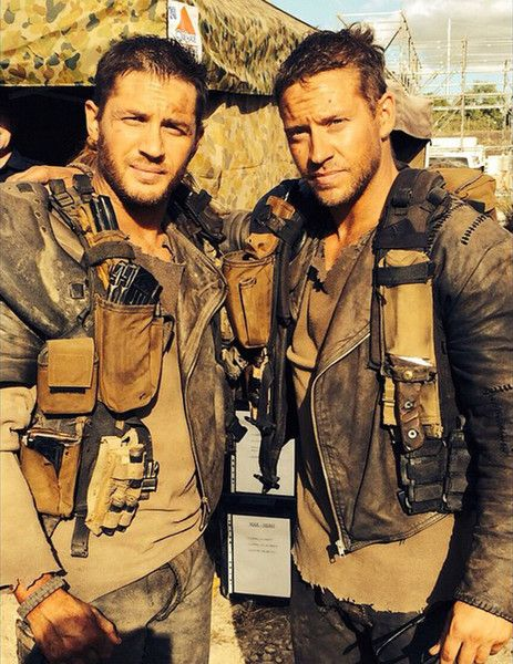 'Mad Max: Fury Road' - Mind-Bending Photos of Actors and Their Stunt Doubles - Photos