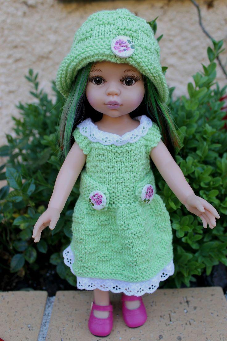 tuto robe et chapeau pour poupées Paola-Reina, Les Chéries