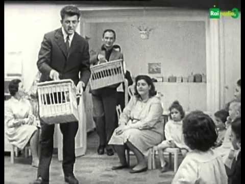 ▶ Montessori 3.0 - Nanni Loy in Specchio Segreto con i bambini 10/09/2012 - YouTube