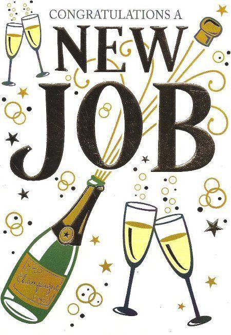 Congratulations A New Job