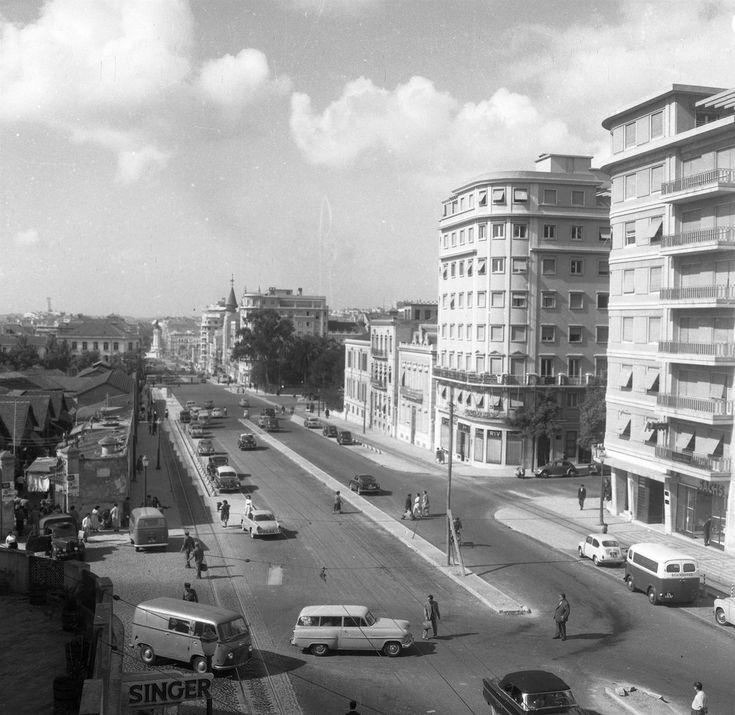 Av. de Fontes Per.ª de Mello, Lisboa (J. Benoliel, 195...)