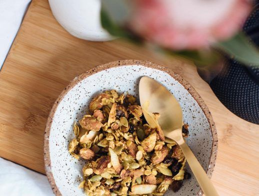A Pair & A Spare   Turmeric and Ginger Granola Recipe