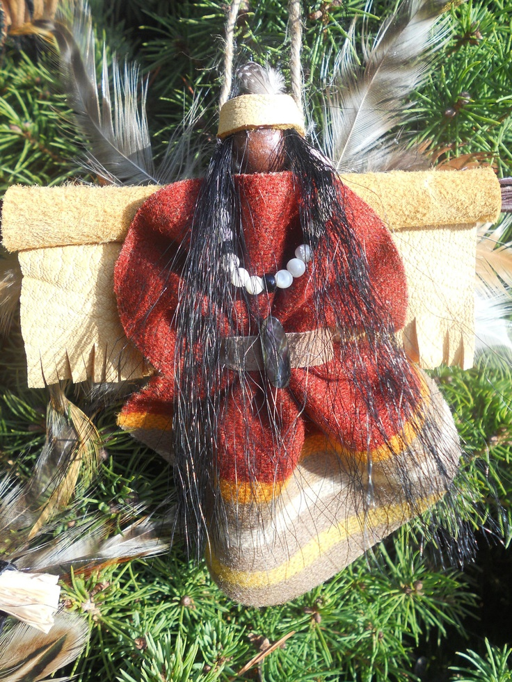 American handmade christmas decorations for Native american handmade crafts