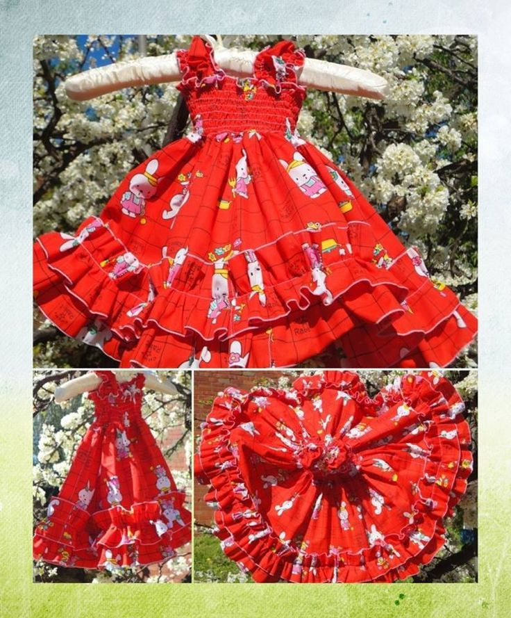 Handmade by Dawns Embrace  Size 6-9 months. OOAK, vintage fabric ruffled, dress,
