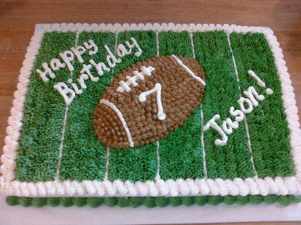 Football Birthday Cake- my next one I want!